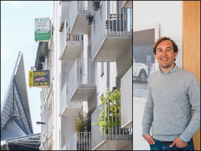 Immo-expert Philippe Gillis doceert vastgoed en vastgoedtransacties aan de AP Hogeschool.
