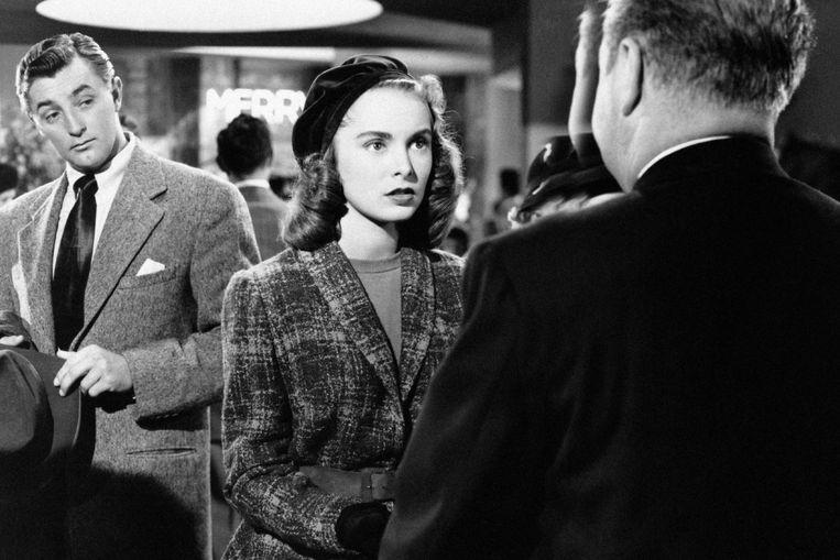 Robert Mitchum en Janet Leigh in Holiday Affair van Don Hartman Beeld
