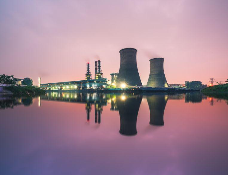 Een kerncentrale in China. Beeld Getty Images