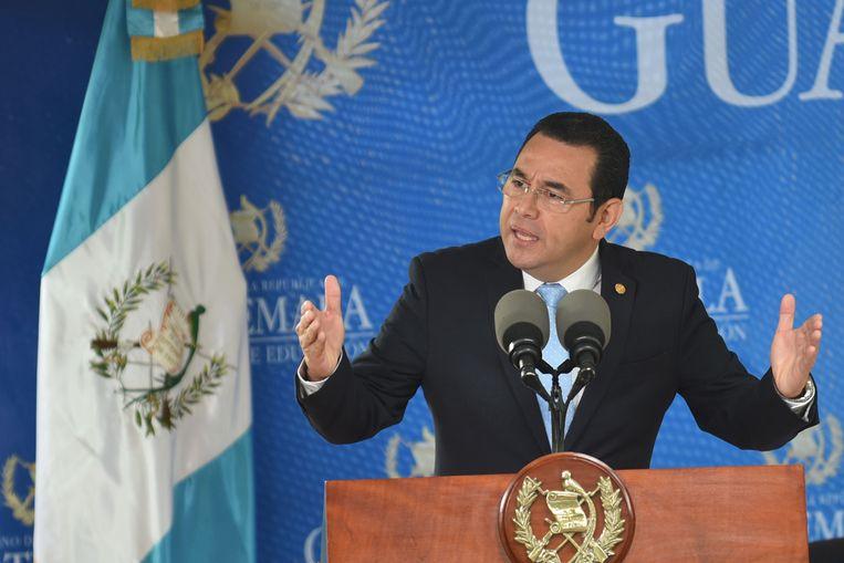 """President Jimmy Morales van Guatemala besliste na advies van de Nationale Veiligheidsraad om Velásquez niet meer te laten inreizen. Hij zou """"een gevaar zijn voor de veiligheid en vrede in het land""""."""