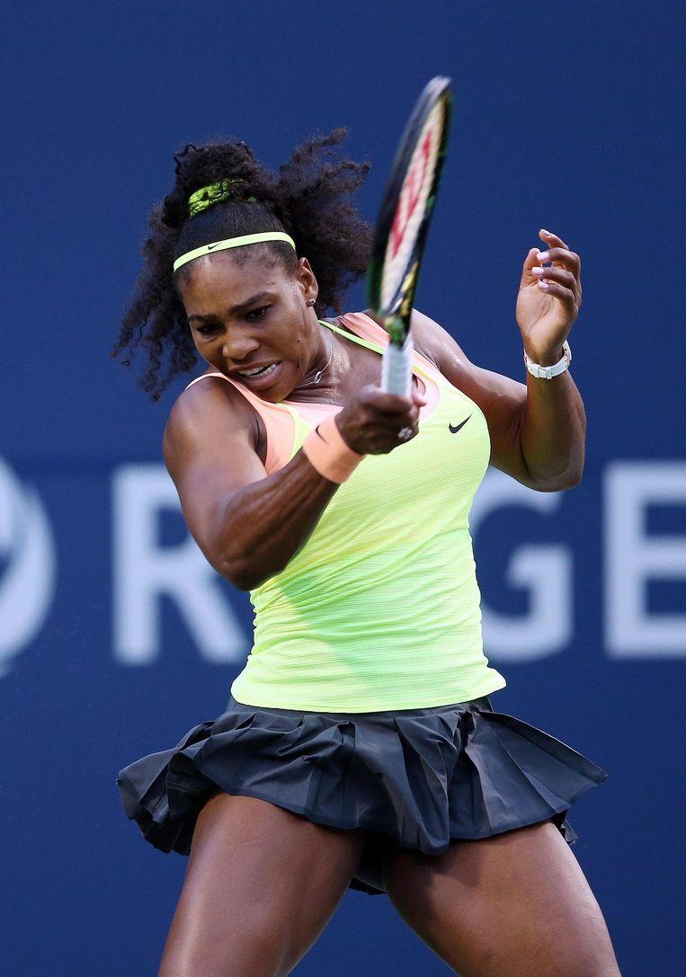 Haar techniek is niet bijzonder, maar haar power maakt Serena schier onoverwinnelijk. Beeld AFP