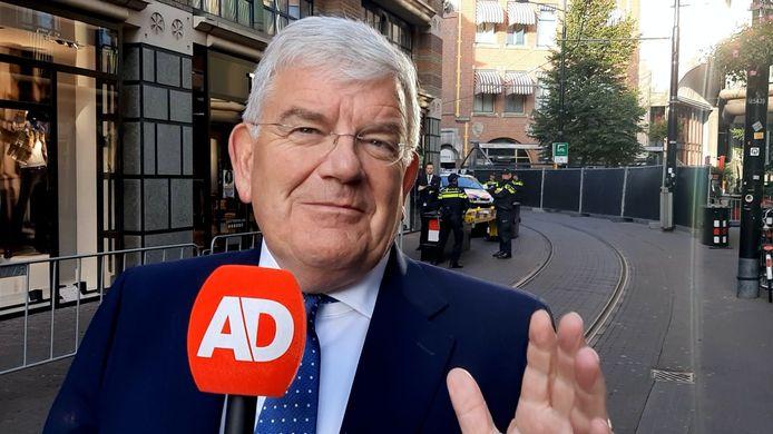 Burgemeester Jan van Zanen gokt op een sombere Prinsjesdag