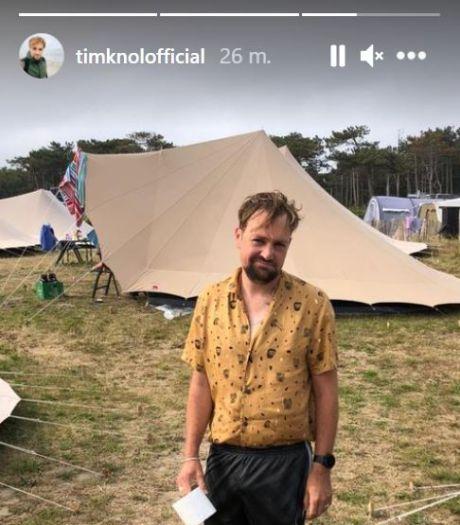 Tim Knol overvallen door noodweer tijdens vakantie op Vlieland