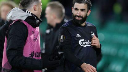 Spits die agent vloerde na goal in Europa League heeft drie speeldagen schorsing aan z'n broek