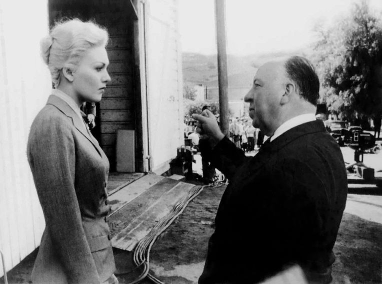 Kim Novak in HitchcocksVertigo (1958). Beeld rv