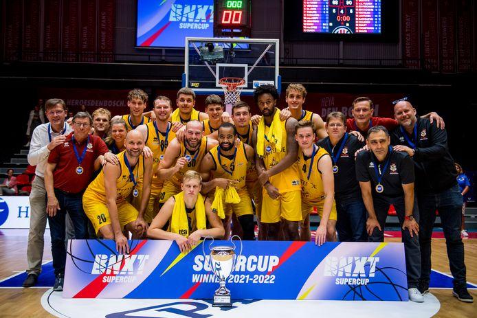 Oostende won enkele weken geleden nog de zogenaamde BNXT Supercup, een wedstrijd tussen de Belgische en Nederlandse kampioen.