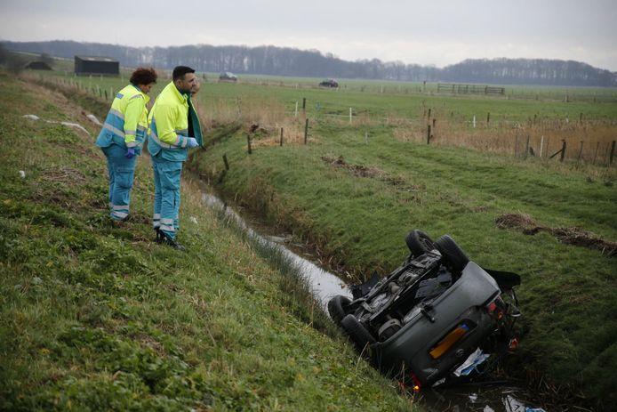 Ongeluk bij A59