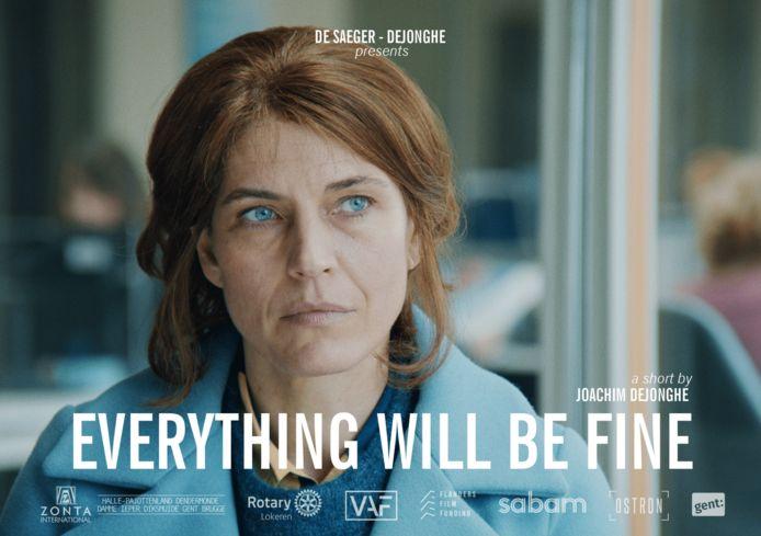 'Everything Will Be Fine' van Joachim Dejonghe is geselecteerd voor de kortfilmcompetitie van Filmfestival Oostende.