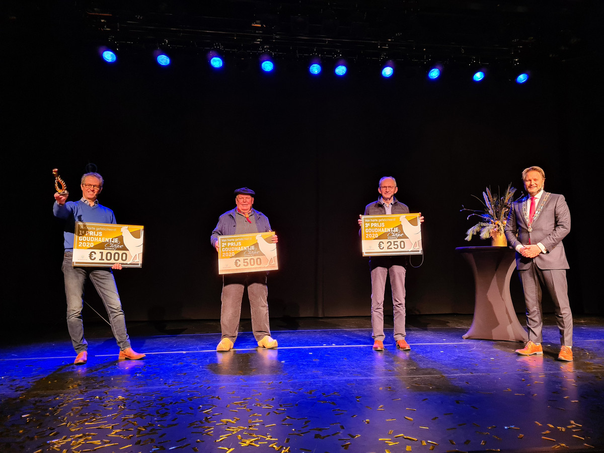 De winnaar van het Goudhaentje is Fonds voor Ons. Op de tweede plaats eindigde de Sallandse Bottermarkt en op de derde plaats Soepcafé Heino.
