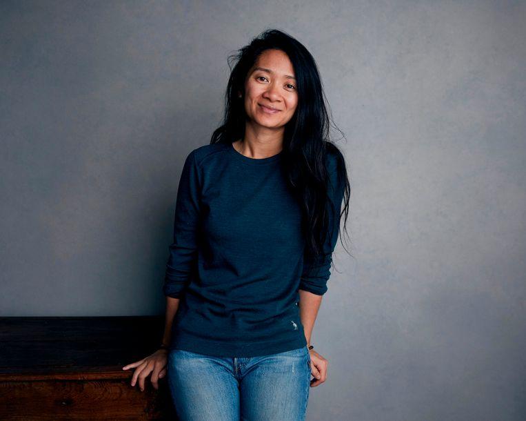 De Chinese regisseur Chloé Zhao is een favoriet op de Bafta's, met haar roadmovie Nomadland. Beeld Taylor Jewell/Invision/AP