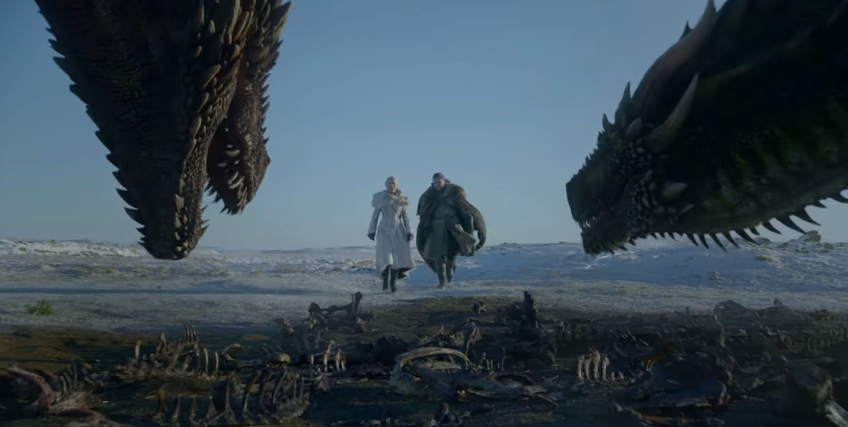 Fragment uit Game of Thrones 8.