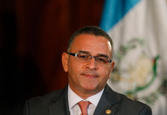 De president van El Salvador Mauricio Funes.