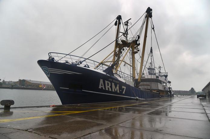 De ARM-7 aan de kade in Vlissingen.