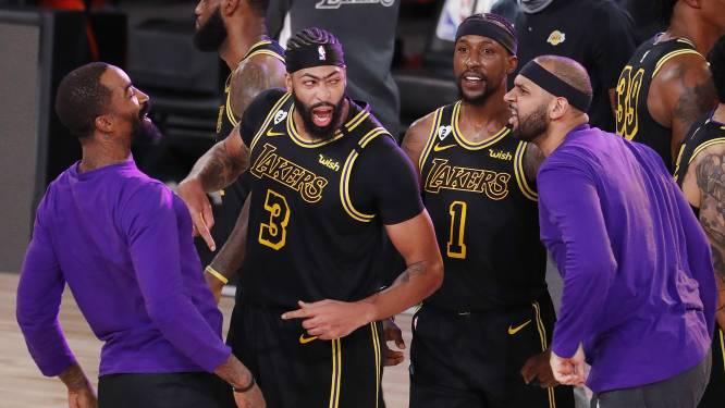 Lakers diepen kloof met Denver uit in finale Western Conference, met dank aan Davis