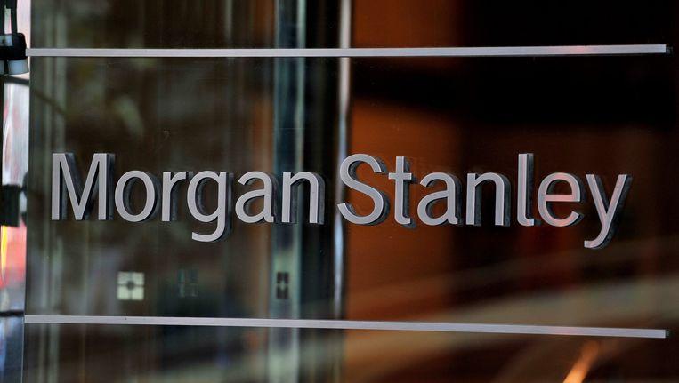 De zakenbank Morgan Stanley noemde negatieve rentes 'een gevaarlijk experiment' dat ertoe zal leiden dat banken minder krediet gaan geven. Beeld epa