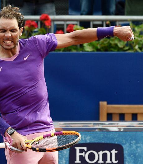 Rafael Nadal rejoint les quarts en écartant Nishikori dans la douleur