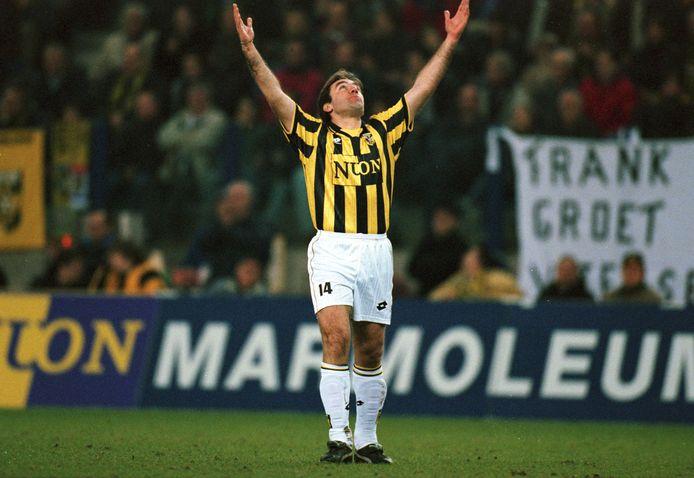 Dejan Curovic in het shirt van Vitesse in 1998.