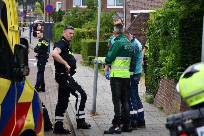 De politie doet onderzoek naar de steekpartij.