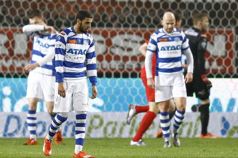 Youssef El Jebli van De Graafschap baalt nadat het 1-1 is geworden. Beeld anp