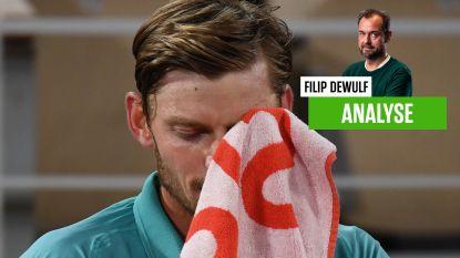 """Onze tennisexpert vindt dat Goffin moet bezinnen: """"Op geen enkel moment een spatje revolte"""""""