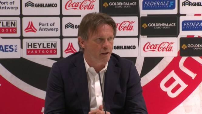 """Frank Vercauteren na nederlaag tegen Genk: """"Onze fouten zijn keihard afgestraft"""""""
