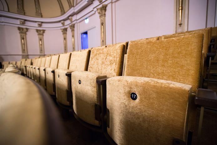 Stoeltjes in theater Musis in Arnhem.