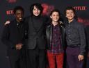 In de hoofdrol: Caleb McLaughlin, Finn Wolfhard, Noah Schnapp, Galen Matarazzo
