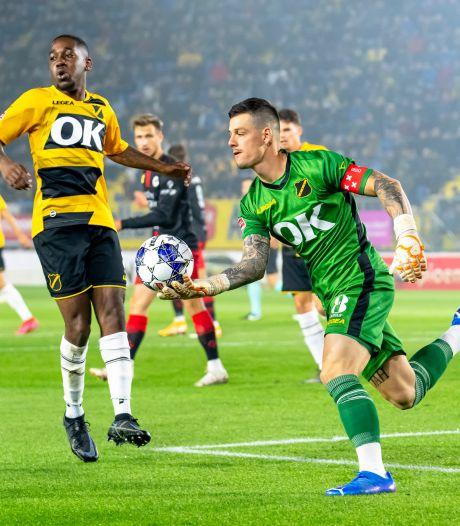 NAC bekert verder dankzij penaltykiller Olij, PEC Zwolle ruim langs De Graafschap