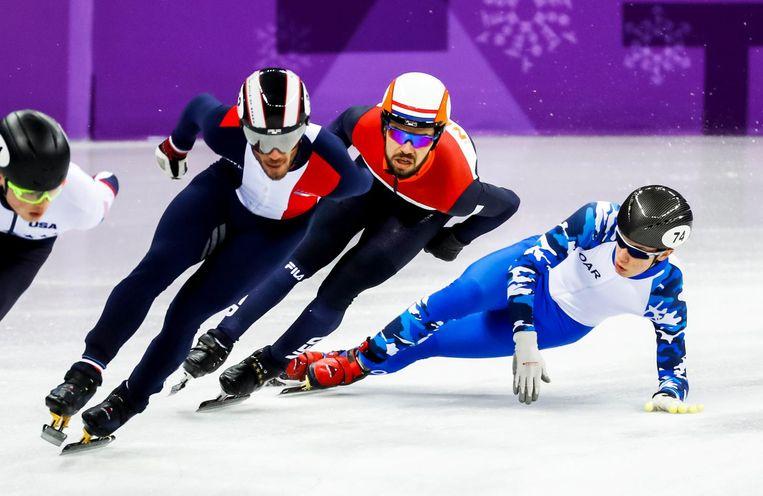Knegt pakt zilver in de finale op de 1500 meter. Beeld ANP
