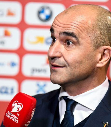 """Roberto Martinez: """"Des joueurs auront l'occasion de se montrer"""" à Prague"""