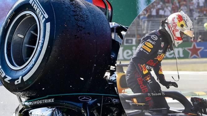 Rivaliteit Verstappen-Hamilton bereikt kookpunt: daar was de crash die niet kon uitblijven
