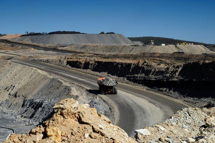 Een koolmijn in New South Wales in Australia. De Australische regering is niet van plan om de brandstof vaarwel te zeggen.