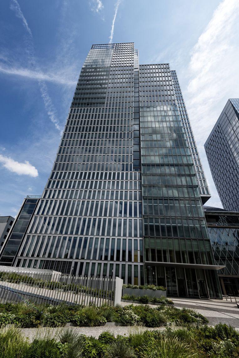 Nextower in Frankfurt Beeld © Horacio Villalobos/Corbis
