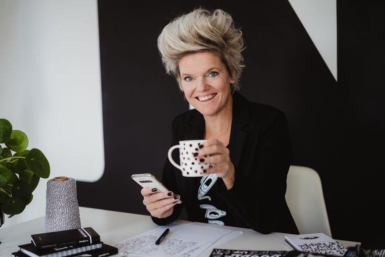 Karin Luttenberg van Paperfuel. Beeld Lizet Beek