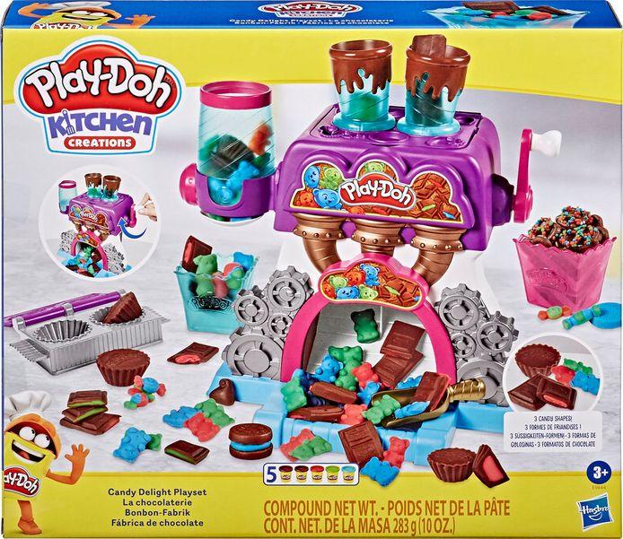 La chocolaterie Play-Doh