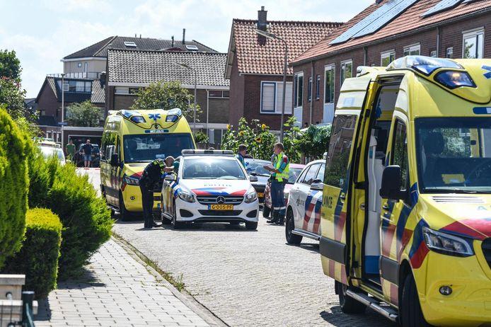 Bij een steekpartij in Bodegraven is iemand zwaar gewond geraakt.