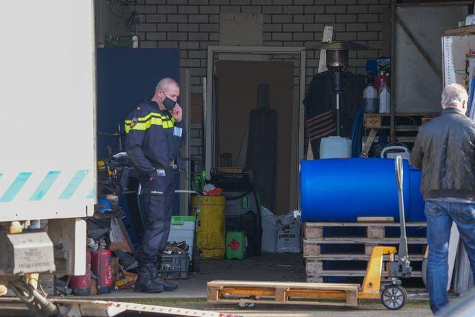 Politie onderzoekt diverse panden in Oss vanwege strafrechtelijk onderzoek