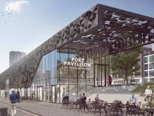 Eerste paal voor het Leuvepaviljoen: begin volgend jaar opent hier het haveninformatiepunt in de stad
