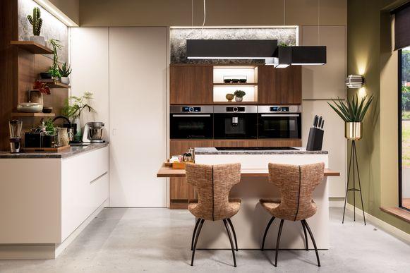 Vanille geeft je keuken een minder harde en strakke look dan wit en zorgt voor een relaxte uitstraling.