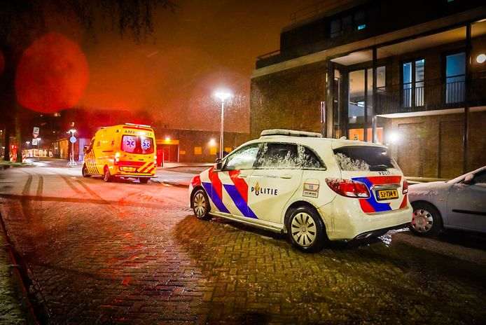 Man gewond bij steekincident in Eindhoven.