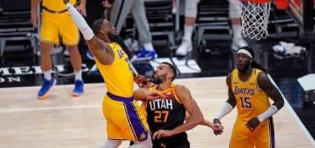 Utah Jazz in Los Angeles veel te sterk voor titelverdediger Lakers