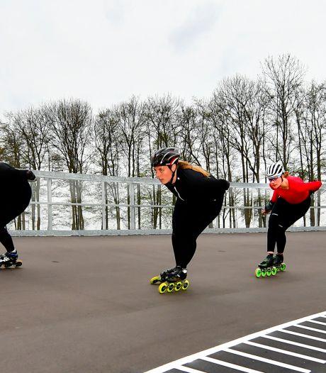 Skeelerpiste Rotterdam klaar: het hele jaar door sporten in Noordrand