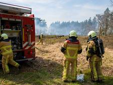 Gevaar op natuurbrand stijgt door droogte