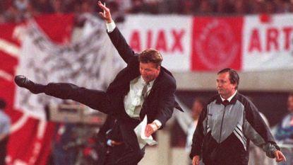 Karatetrap, gouden wissel en legendarische terugkeer naar Amsterdam: de krachttoer van Louis van Gaal in CL-finale van 1995