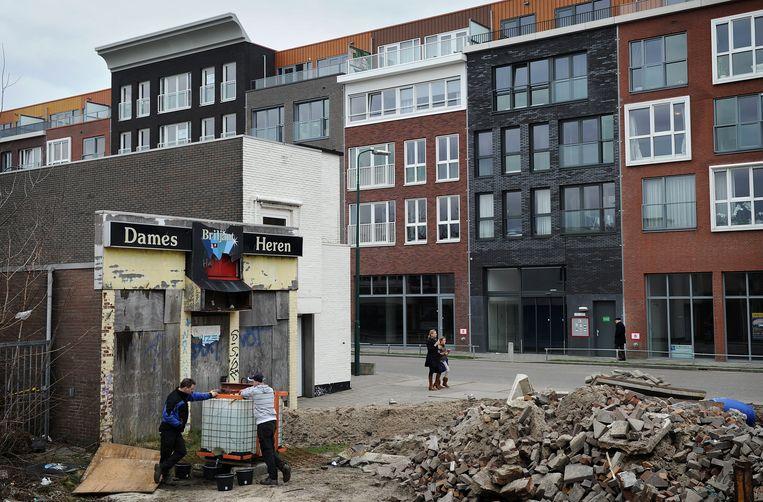 Nieuwe huurwoningen in Veenendaal, Utrecht. Beeld Marcel van den Bergh