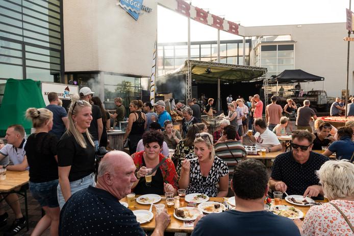 B.B.B.B, oftewel BBQ, Beers, Beats en Barbers, was een van de evenementen die dit jaar op het plein werden gehouden.