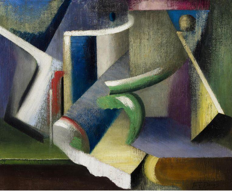 Stilleven, 1918-19. Beeld Cedric Verhelst