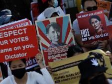 Leger schiet op demonstranten Myanmar, vijf journalisten opgepakt en internet enige tijd plat