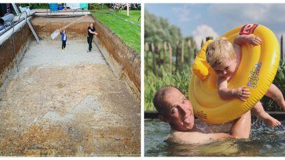 SHOWBITS. Zwembadpret met Werner De Smedt en Karl Vannieuwkerke