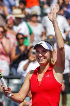 Wozniacki zet Pliskova opzij en bereikt finale in Miami